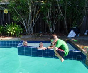 Summer activities: Cannonball contest