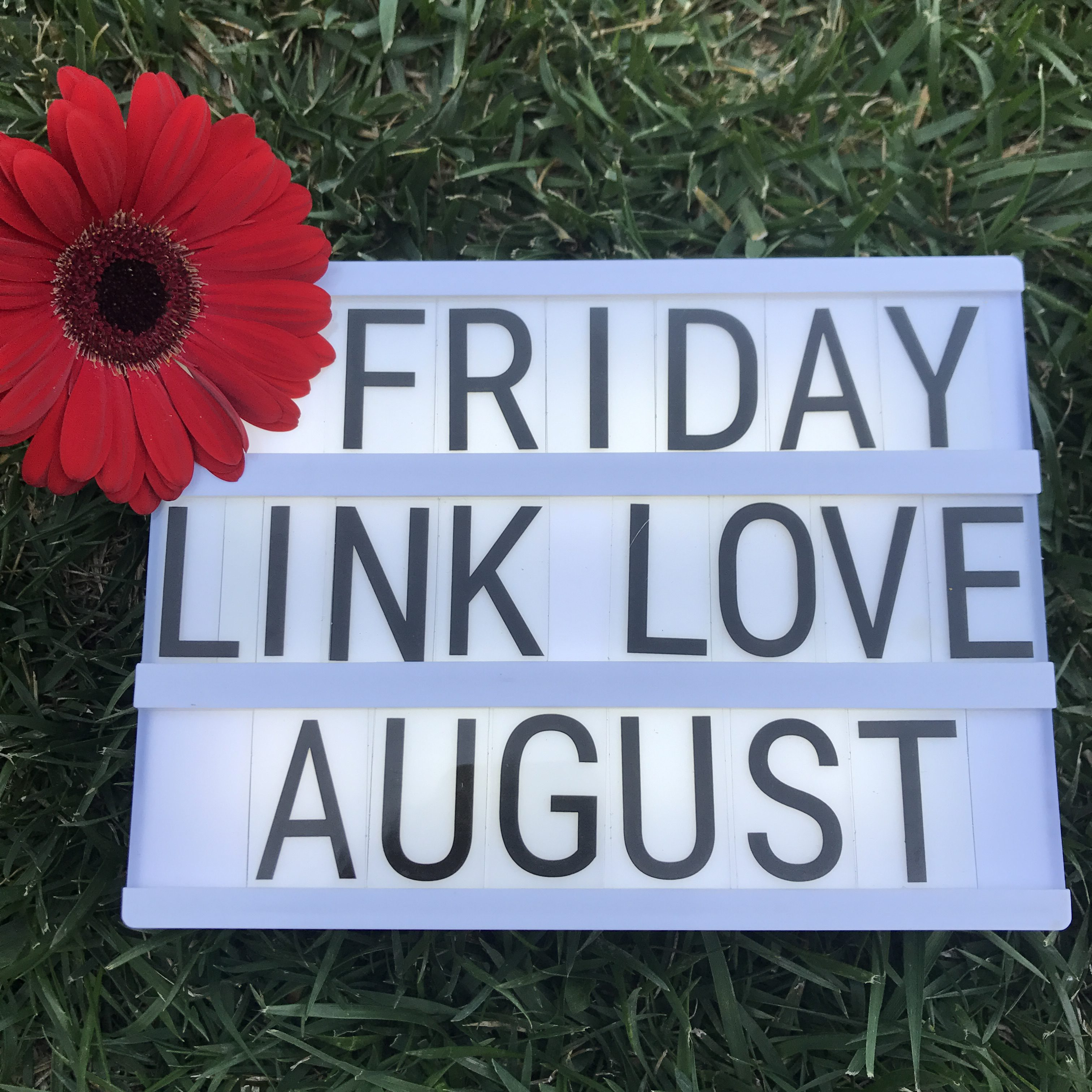 Friday Link Love August