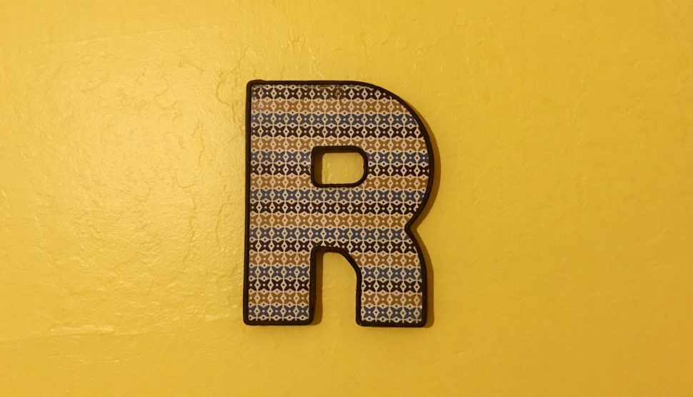 R is for…